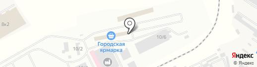 Кутум 2 на карте Астрахани