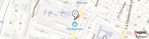 Магазин электротоваров на карте Астрахани