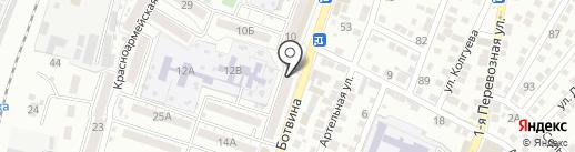 Сафира на карте Астрахани