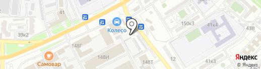 Фирма по аренде автовышки на карте Астрахани