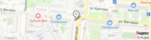 Пивной мираж на карте Астрахани