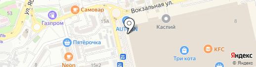 Бона Велле на карте Астрахани
