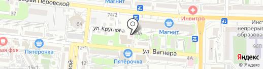 СервисСтройМонтаж на карте Астрахани