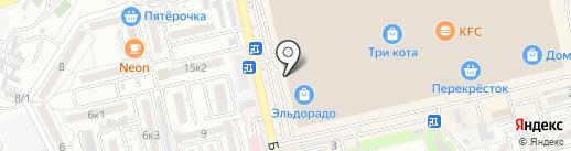 Пиксель на карте Астрахани