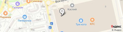 Салон кожи и меха на карте Астрахани