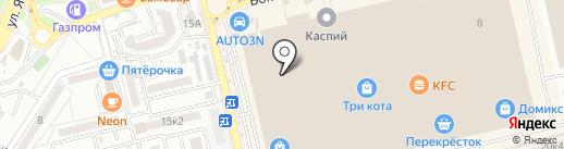 Ярамира на карте Астрахани