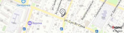 Пивной Причал на карте Астрахани