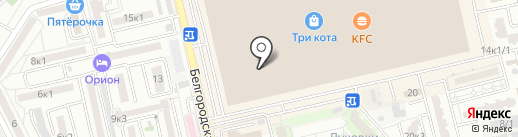 ACG спорт на карте Астрахани