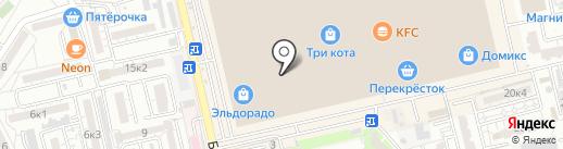 Мальвина на карте Астрахани