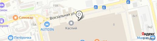 Детали на карте Астрахани
