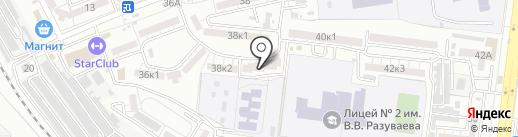 АГИТАТ на карте Астрахани