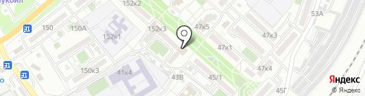 Фаберлик на карте Астрахани