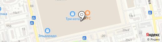 007 на карте Астрахани