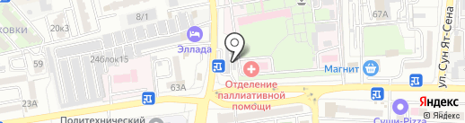 Центр кузовного ремонта на карте Астрахани