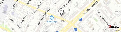 Интим на карте Астрахани