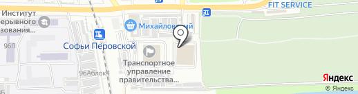 Вторая смена на карте Астрахани