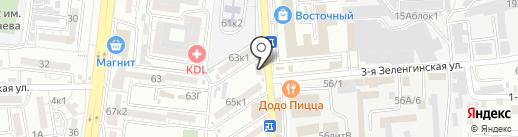 Тренажёрка на карте Астрахани