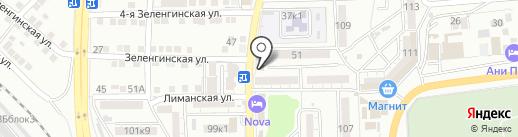 Гришенька на карте Астрахани