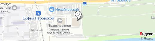 Сити Пласт на карте Астрахани