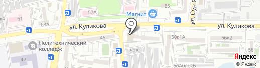 Управление Россельхознадзора по Ростовской, Волгоградской и Астраханской областям и Республике Калмыкия на карте Астрахани