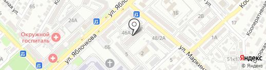 Учебно-методический центр на карте Астрахани