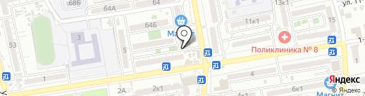 Магазин кондитерских изделий и чая на карте Астрахани