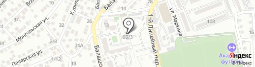 Gertz окна на карте Астрахани