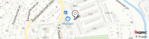 КФ Зернышко на карте Астрахани