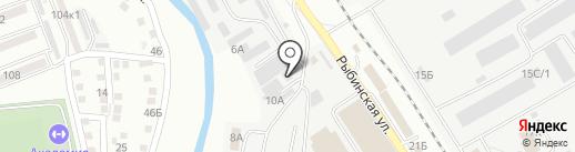 Электрощит, ПАО на карте Астрахани