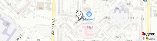 Мастерская по ремонту обуви и изготовлению ключей на карте Астрахани