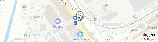 Сантехкерама на карте Астрахани