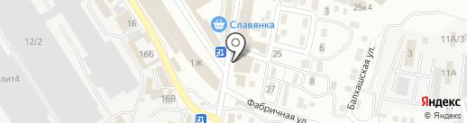 ПОЛОВИЦА на карте Астрахани