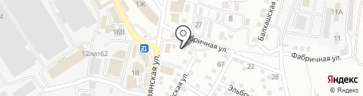Русский Sтиль на карте Астрахани