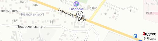 Магазин товаров для дома и строительства на карте Астрахани
