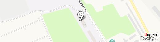 Теплица на карте Ежово