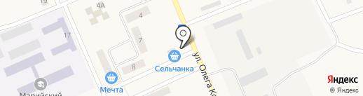 Сельчанка на карте Ежово