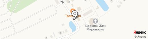 Почтовое отделение на карте Ежово