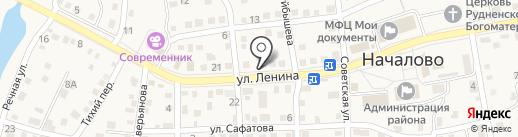 Преображение на карте Началово