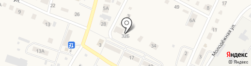 Алкомир на карте Больших Ключищ