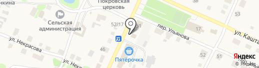 Сбербанк, ПАО на карте Больших Ключищ