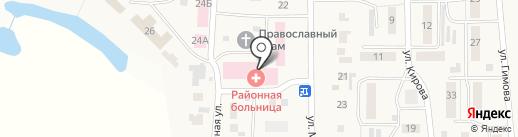 Скорая медицинская помощь на карте Ишеевки