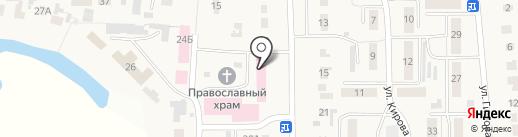 УЦРБ на карте Ишеевки