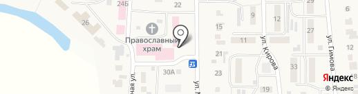 Солнышко на карте Ишеевки