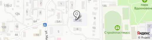 Вишенка на карте Ишеевки