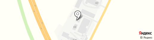 БСМ Пригородный на карте Ульяновска