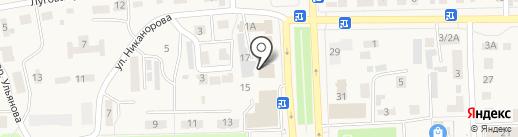 Управление Федеральной службы государственной регистрации на карте Ишеевки
