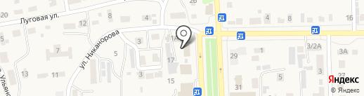 Опорный пункт полиции на карте Ишеевки