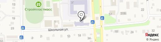 Ишеевская основная общеобразовательная школа на карте Ишеевки