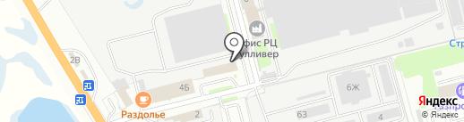 Компания Колесо на карте Ульяновска