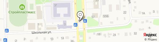 Азалия на карте Ишеевки